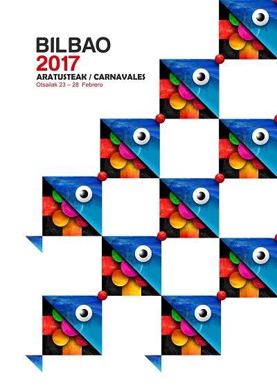 Cartel semifinalista del concurso de carteles para carnavales 2017