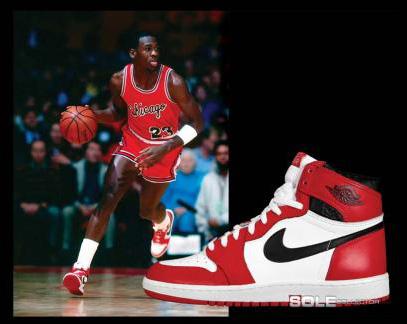 """best authentic e4c0f c521f A los pocos meses, nació un producto inigualable y de culto  las """"Air Jordan  I"""". Zapatillas Nike especialmente diseñadas para Jordan y… de color rojo y  ..."""